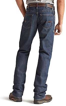 Ariat Work FR Men's M4 Shale Low Rise Boot Cut Jean - Extended Sizes (48-50)