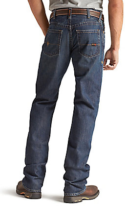Ariat Men's M4 Low Rise Basic Boot Cut FR Work Jeans