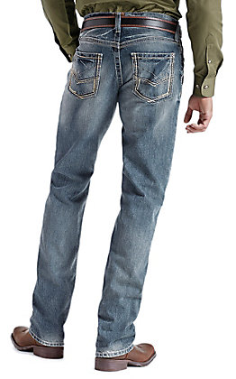 Ariat M5 Ridgeline Gambler Slim Fit Low Rise Straight Leg Jeans - Big & Tall