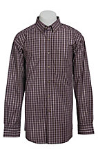 Ariat Men's L/S Arden Dusk Western Plaid Shirt 10013325