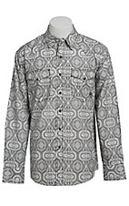 Ariat Men's L/S Brendan Western Print Snap Shirt 10013361