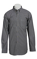 Ariat Men's L/S Stan Western Plaid Shirt 10013367