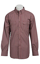 Ariat Men's L/S Forrest Western Plaid Shirt 10013375