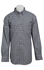 Ariat Men's L/S Swift Western Plaid Shirt 10013376