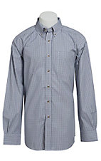 Ariat Men's L/S River Western Check Shirt 10013377