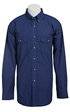 Ariat Men's L/S Logan Western Plaid Shirt 10013379