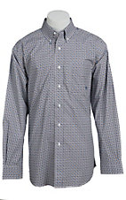 Ariat Men's L/S Oliver White Western Print Shirt 10013392