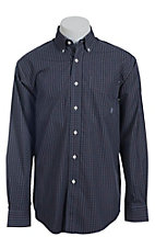 Ariat Men's L/S Upton Western Plaid Shirt 10013398