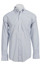 Ariat Men's L/S York Western Check Shirt 10013404