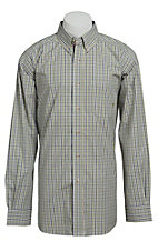 Ariat Men's L/S Sean Western Plaid Shirt 10013429