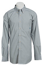 Ariat Men's L/S Washoe White Western Check Shirt 10013431X- Big & Tall Sizes