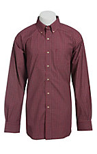 Ariat Men's L/S Wayne Western Plaid Shirt 10013433