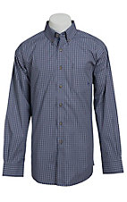 Ariat Men's L/S Verdi Western Plaid Shirt 10013435