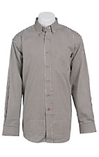 Ariat Work FR Men's Stripe Long Sleeve Flame Resistant Work Shirt 10013511