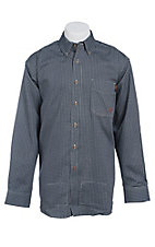 Ariat Work FR Men's Check Long Sleeve Flame Resistant Work Shirt - Big & Tall