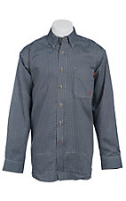 Ariat Work FR Men's Check Long Sleeve Flame Resistant Work Shirt 10013513