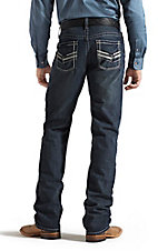 Ariat Men's M2 Blackhawk Deepwater Relaxed Fit Low Rise Boot Cut Jeans