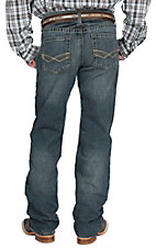 Ariat M4 Wired Carbon Low Rise Relaxed Fit Boot Cut Jean