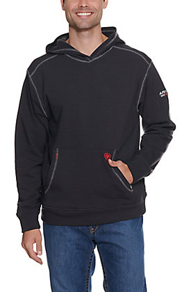 Ariat Work FR Men's Black HRC2 Long Sleeve Flame Resistant Hoodie
