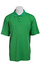 Ariat Men's Kelly Green Tek Polo