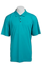 Ariat Men's Peacock Blue Tek Polo