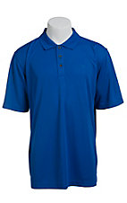Ariat Men's Turkish Sea Blue Tek Polo