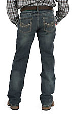 Ariat M5 Double Crossed Slim Fit Low Rise Straight Leg Jeans