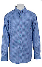 Ariat Men's Blue Virgin Print Western Shirt