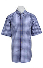 Ariat Men's Purple Jaracanda Plaid Western Shirt
