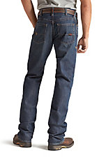 Ariat Work FR Men's M5 Shale Low Rise Slim Fit Straight Leg Flame Resistant Jean- Extended Sizes