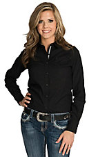 Ariat Women's Kirby Black Long Sleeve Western Shirt