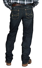 Ariat Men's M2 Quatro Rugged Relaxed Fit Low Rise Boot Cut Jeans
