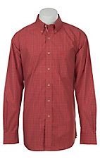 Ariat Mens Brick Mini Check Western Shirt