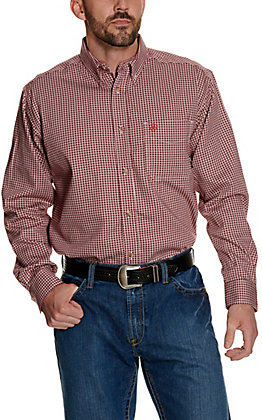 Ariat Work FR Men's Plaid Long Sleeve Flame Resistant Work Shirt 10015945