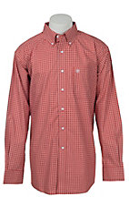 Ariat Men's Red Floral Print Western Shirt 10015995