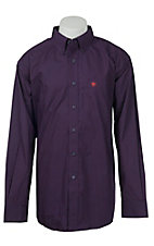 Ariat Men's Orchard Mini Print Western Shirt