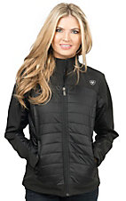 Ariat Women's Blast Black Down Soft Shell Jacket