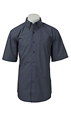 Ariat Men's Navy Putnam Print Western Shirt 10016144