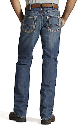 Ariat Men's M4 Clay Low Rise Boot Cut FR Work Jeans