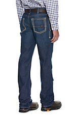 Ariat Work FR Men's M4 Dark Shale Low Rise Boot Cut Flame Resistant Jean