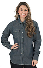 Ariat Women's Flame Resistent Slate Denim Western Snap Work Shirt