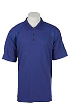 Ariat Men's Royal Blue Tek Polo