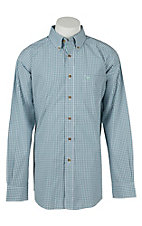 Ariat Mens Badger Check Western Shirt