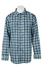 Ariat Work FR Men's Plaid Long Sleeve Flame Resistant Work Shirt 10017019