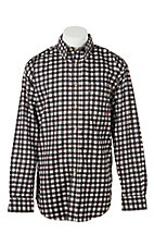 Ariat Work FR Men's Plaid Long Sleeve Flame Resistant Work Shirt 10017020