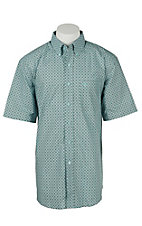 Ariat Men's Fairview Blue Print Western Shirt