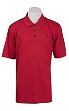 Ariat Men's Red Tek Polo