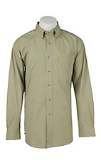 Ariat Mens Galvyn Lime Plaid Western Shirt