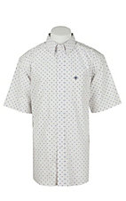 Ariat Men's Gaston Diamond Print Western Shirt