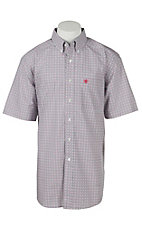 Ariat Men's Helios White Print Western Shirt
